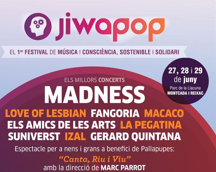 Photo of Primera edición del Jiwapop