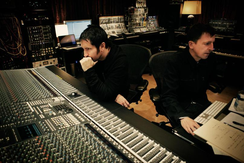 Photo of Trent Reznor de nuevo con David Fincher