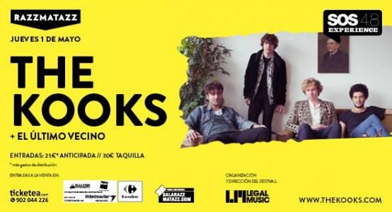 Photo of Experiencia SOS 4.8 en Barcelona: The Kooks y El Último Vecino actuarán el jueves en Razzmatazz