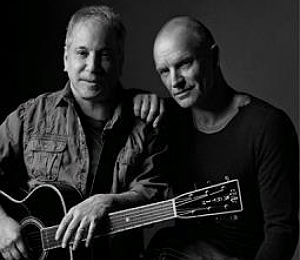 Photo of La gira conjunta de Paul Simon y Sting llegará a Europa en 2015