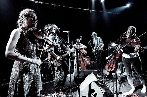Photo of Thee Silver Mt. Zion Memorial Orchestra llegan a España esta semana