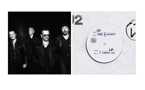 U2 publica su nuevo álbum Song of Innocence gratis en iTunes