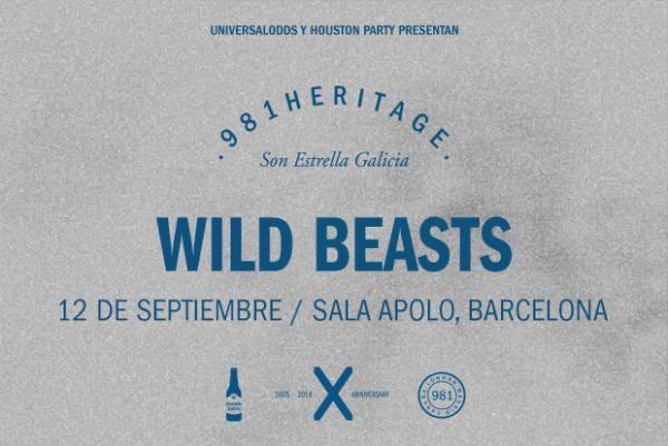 Photo of El 981 Heritage se estrena en BCN el viernes 12 con Wild Beasts