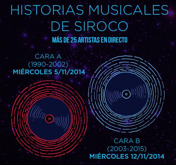 Historias musicales de Siroco