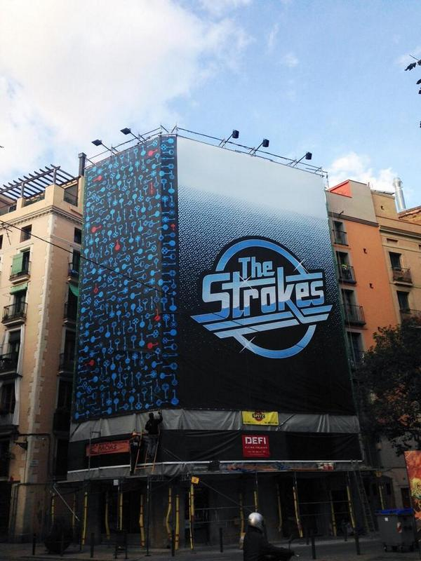 Photo of The Strokes, ¿primera confirmación del Primavera Sound 2015?