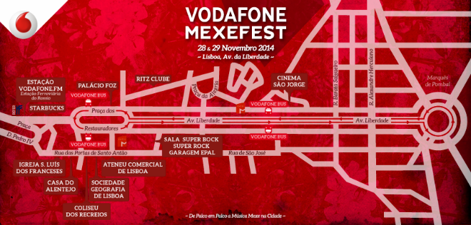 Photo of Vodafone Mexefest 2014: cartel definitivo por días