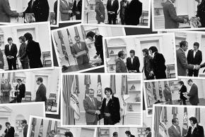 El popular encuentro entre Elvis y Nixon se llevará a la gran pantalla