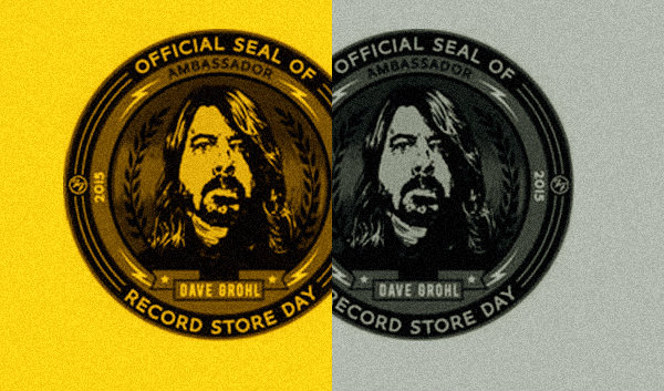 Photo of Dave Grohl, Embajador 2015 del Record Store Day