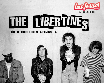 Photo of The Libertines al Low Festival 2015