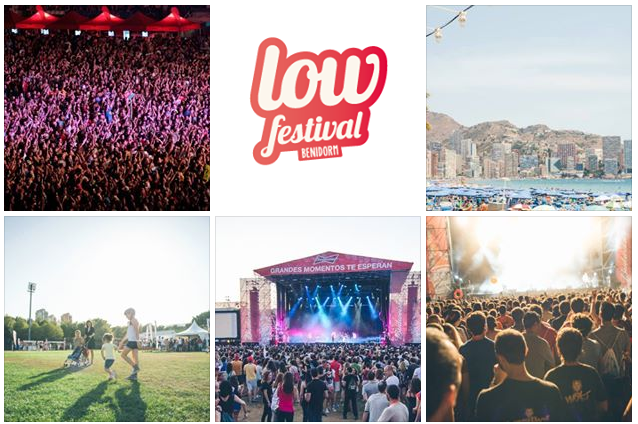Photo of Horarios del @LowFestival 2015
