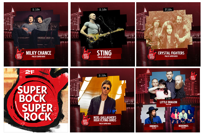 Photo of Primeros nombres del Super Bock Super Rock 2015