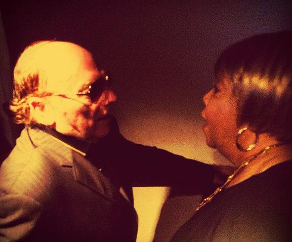 Van Morrison y Mavis Staples