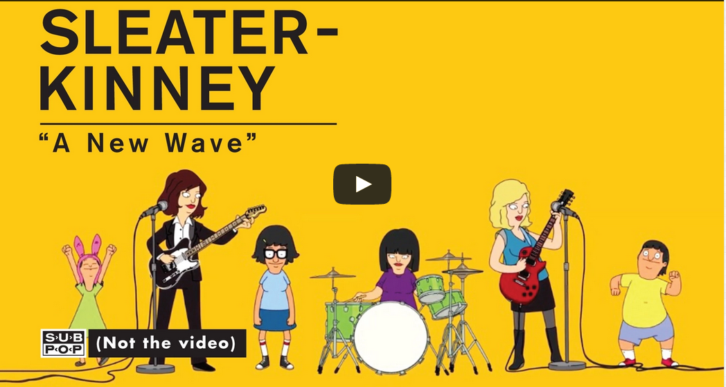 Photo of Sleater-Kinney – A New Wave