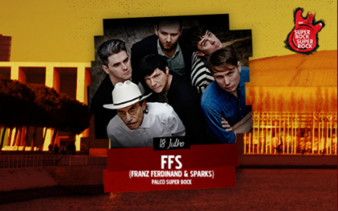 Photo of Franz Ferdinand y Sparks también estarán en el Super Bock Super Rock