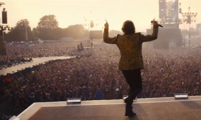 Photo of The Rolling Stones: Sweet summer sun from Hyde Park