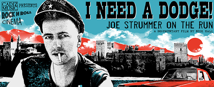 Photo of I need a Dodge!: Joe Strummer on the run se estrena en Granada