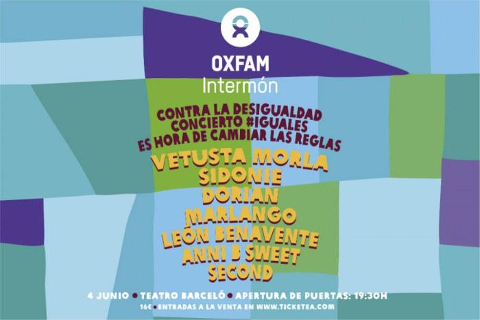 Photo of Concierto #IGUALES, organizado por Oxfam Intermón