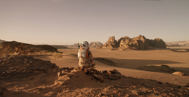 Photo of Primeras imágenes de The Martian