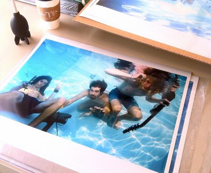 Photo of Las fotos inéditas de la sesión de Nirvana para Nevermind