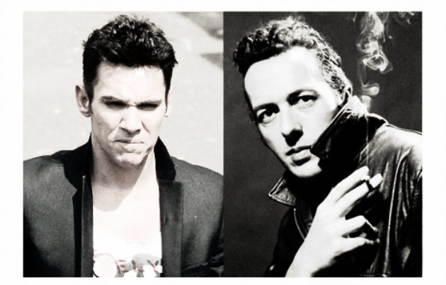 Photo of Jonathan Rhys Meyers es Joe Strummer