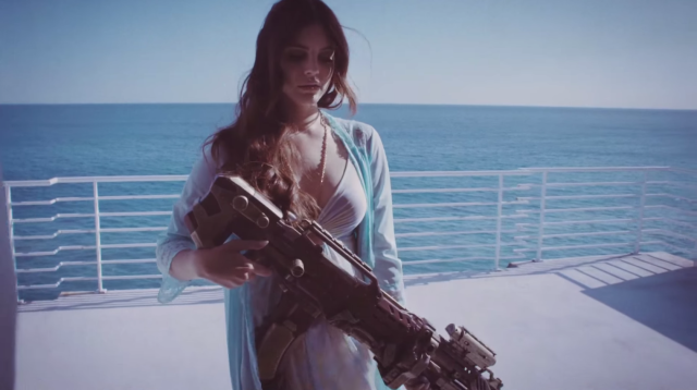 Photo of Lana del Rey – High by the beach