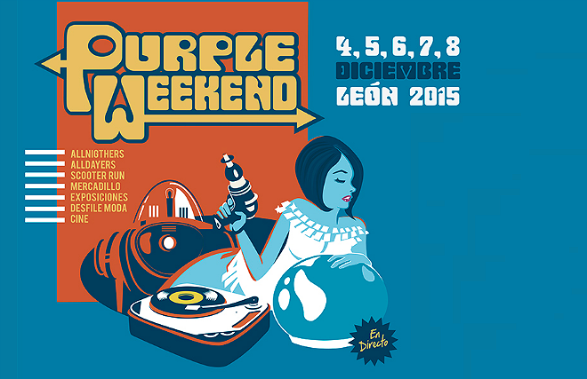 Photo of Cartel y horarios del Purple Weekend 2015