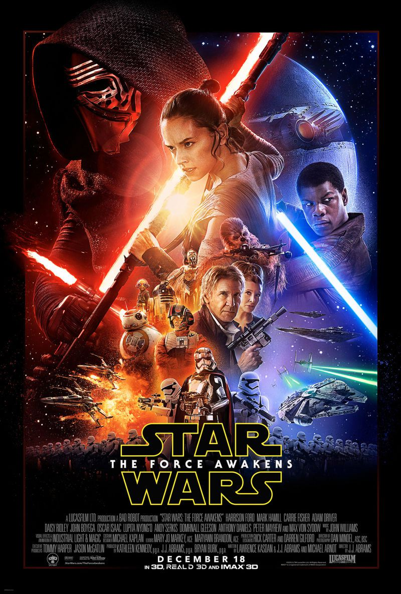 Photo of Poster oficial de Star Wars: The Force Awakens