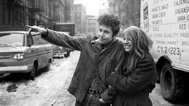 Photo of Suze Rotolo sobre Bob Dylan (1)