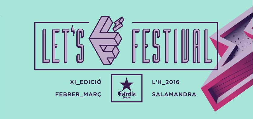Photo of Cartel completo del Let´s Festival 2016