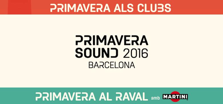 Photo of Programación del Primavera al Raval y Primavera Primavera als Clubs 2016