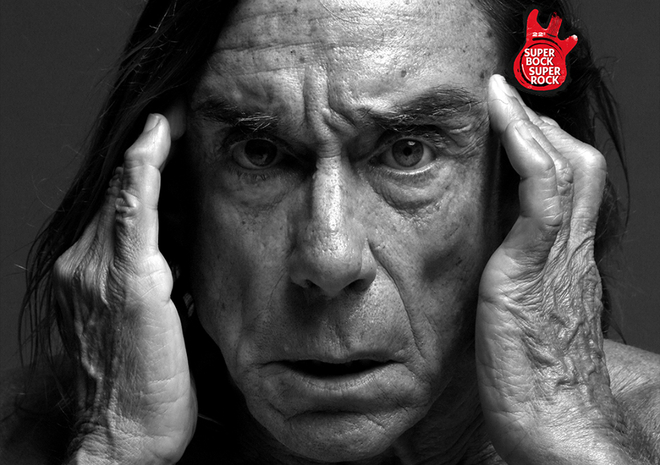 Photo of Iggy Pop al Super Bock Super Rock 2016