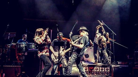 Neil Young anuncia disco en directo