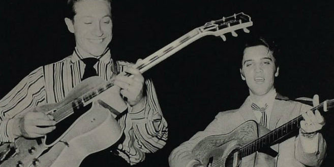 Fallece Scotty Moore, guitarrista de Elvis Presley