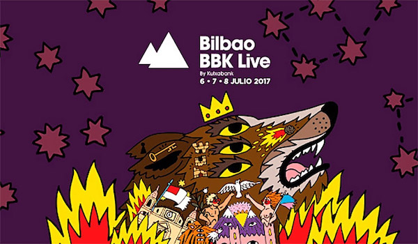 Photo of The Killers al Bilbao BBK Live 2017