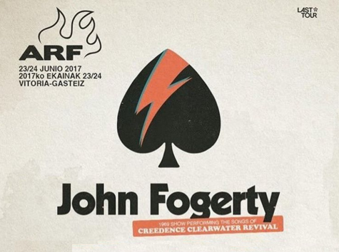 Photo of John Fogerty lidera las nuevas confirmaciones de Azkena Rock Festival 2017