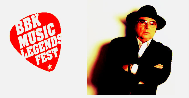 Photo of Van Morrison, primer cabeza de cartel del BBK Music Legends Festival 2017