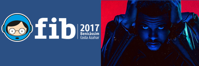 Photo of The Weeknd al FIB 2017