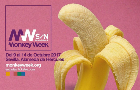 Photo of Cartel completo del Monkey Week 2017