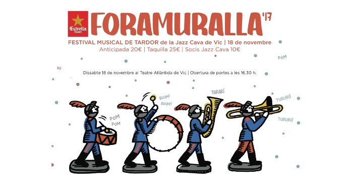 Photo of Cartel del Foramuralla 2017