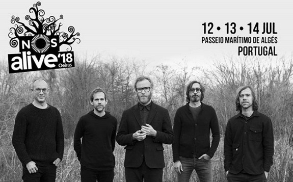 Photo of The National, primera confirmación para el Nos Alive 2018