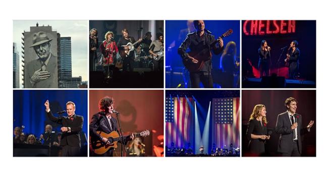 Photo of Así fue el concierto homenaje a Leonard Cohen