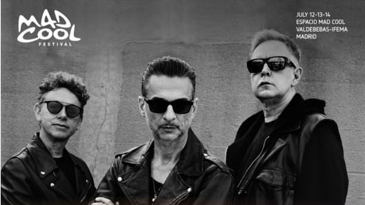 Photo of Depeche Mode al Mad Cool 2018