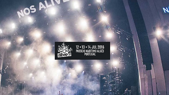 Photo of Wolf Alice y Real State al Nos Alive 2018