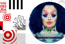 Photo of Björk al Vodafone Paredes de Coura