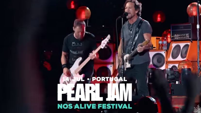 Photo of Pearl Jam terminará su gira europea en el Nos Alive 2018