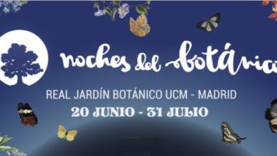 Photo of Cartel completo de Noches del Botánico 2019