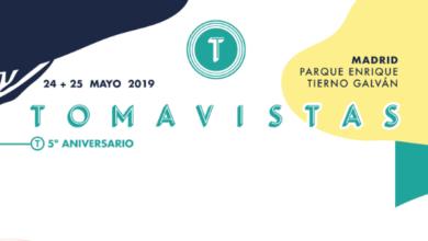 Photo of Tomavistas 2019 cierra su cartel y anuncia distribución por días