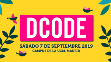 Photo of Cartel de DCODE 2019