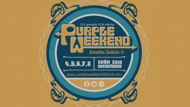 Photo of Cartel completo del Purple Weekend 2019
