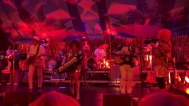 Photo of La primera actuación de Arcade Fire en dos años